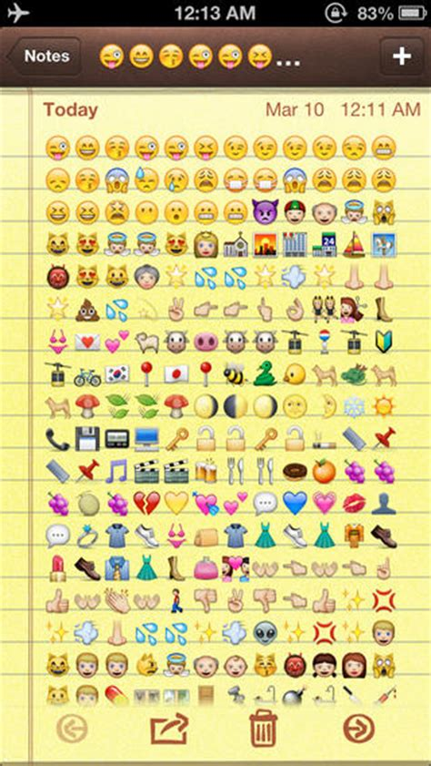 iphone emoji font for android image gallery iphone text emoticons symbols