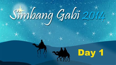 Comment must not exceed 1000 characters. Simbang Gabi 2014 - Day 1 - YouTube
