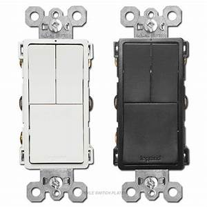 Stacked Light Switch Wiring Diagram