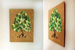 Süßigkeiten Baum Selber Machen : wandbild baum selber machen anleitung dekoking diy bastelideen dekoideen zeichnen lernen ~ Orissabook.com Haus und Dekorationen