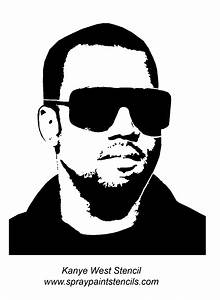 Gallery For > Kanye Stencil