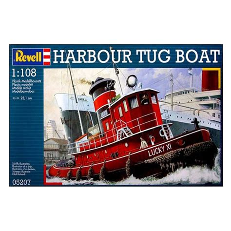 Tugboat Kit by Harbour Tug Boat Model Kit
