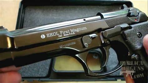 ekol firat magnum top venting mm pak blank gun silent auction youtube