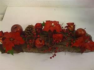 Art Floral Centre De Table Noel : centre de table no l photo de autres cr ations florales art floral ~ Melissatoandfro.com Idées de Décoration
