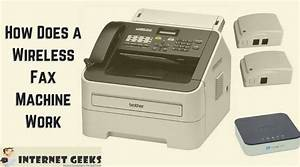 how does a wireless fax machine works internet geeks With fax a document over the internet