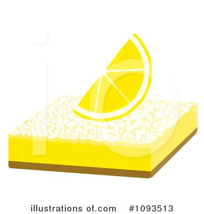 cuisine dessert lemon bar clipart 1093513 illustration by randomway