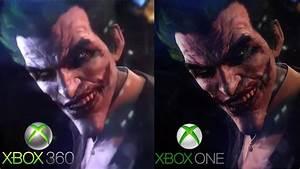 Batman: Arkham Origins - Graphics Comparison - XBOX 360 vs ...