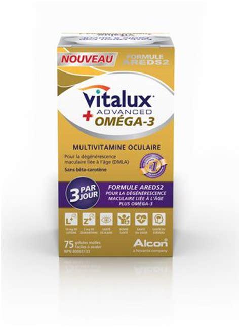 vitalux advanced  omega  areds formula ocular