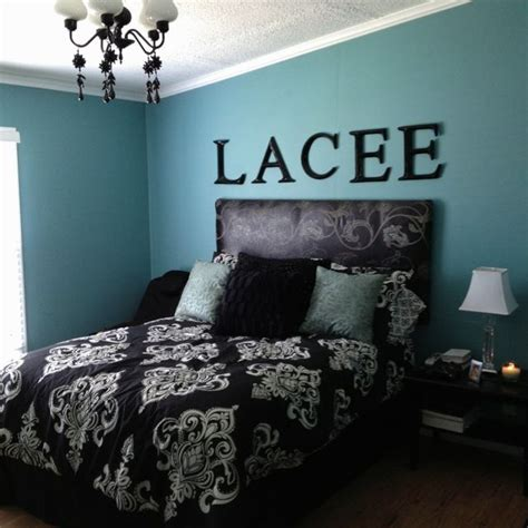 The flooring is eucalyptus wood. Blue Black And White Bedroom Gotzghy | Decorating - New ...