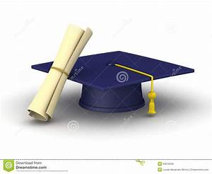 Graduation Cap And Diploma Royalty Free Stock Image ...