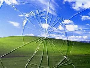 Hd Cracked Screen Wallpaper