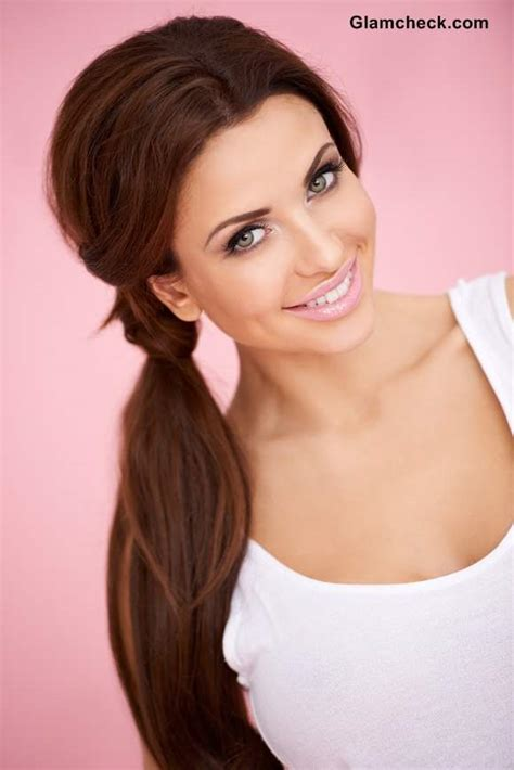Hairstyles For College by Everyday College Hairstyle And Makeup Diy