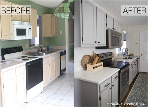 redo kitchen cabinets before and after how to paint oak cabinets time saving tips and tricks 9206