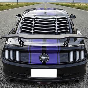 Rear Trunk Spoiler Wings GT Universal For Camaro Charger Challenger Ford Mustang | eBay
