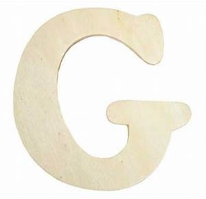 unfinished wooden letter quotgquot word and letter cutouts With wooden letter g