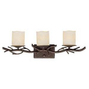 rustic twig 25 quot wide bathroom wall light 67409