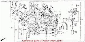 Honda Xl600r 1985  F  Usa Carburetor A 83-85