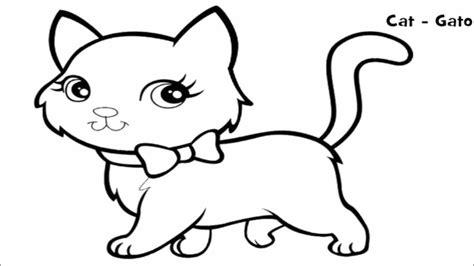 50 gambar untuk mewarnai hewan kucing gambar ini cocok