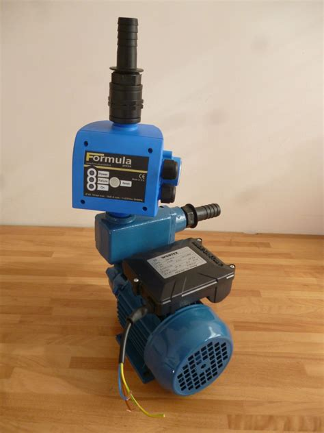 Inline Water Pump Complete With Pressure Control Unit
