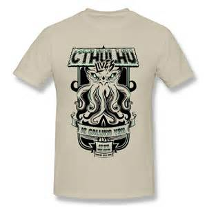 design t shirts aliexpress buy sleeve t shirt cthulhu custom cool quotes t shirts unique