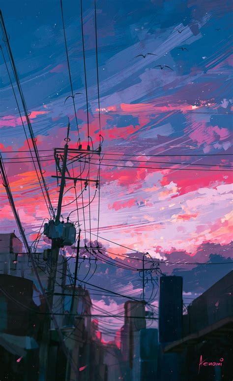 aesthetic anime wallpapers