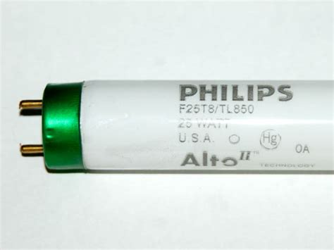 philips 25 watt 36 inch t8 bright white fluorescent bulb