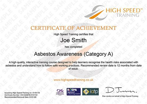 asbestos awareness   training instant