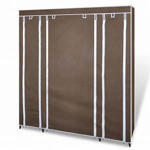 Kleiderschrank 150 Cm : kleiderschrank faltschrank 45 x 150 x176 cm braun ~ Indierocktalk.com Haus und Dekorationen
