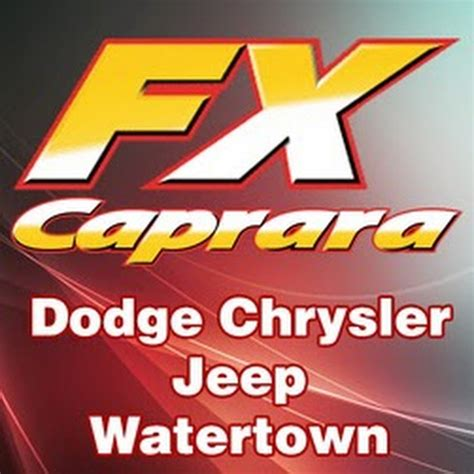 Fx Caprara Fiat by F X Caprara Dodge Chrysler Jeep Of Watertown Watertown