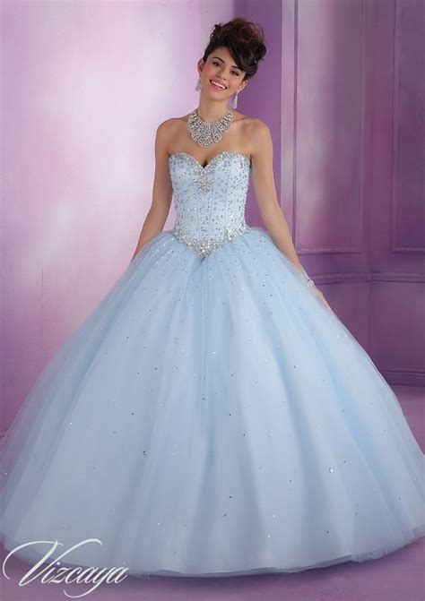 light blue 15 dresses pretty light blue 89017 quinceanera gowns 89017 tulle