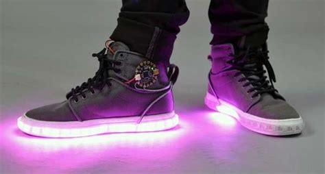 light up high tops diy led high tops light up sneakers