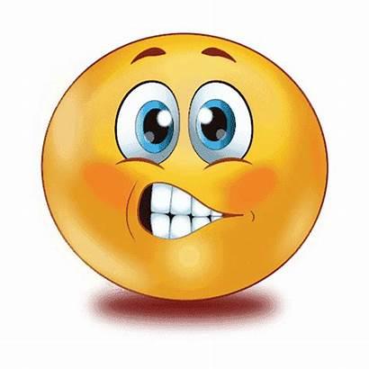 Emoji Scared Transparent Pngmart