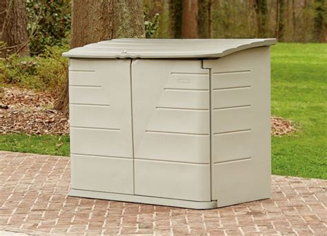 rubbermaid horizontal storage shed outdoor horizontal storage sheds quality plastic sheds