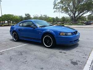 2003 Ford Mustang Premium Mach 1, Azure Blue/, V8 4.6L , 54214 miles for Sale in Fort Lauderdale ...