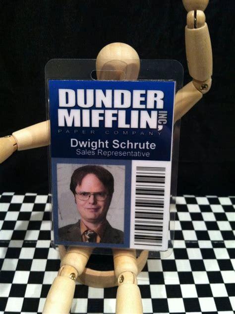 Dwight Schrute Dunder Mifflin The Office Id Prop Replica