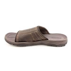 Leather Slides Sandals Shoes