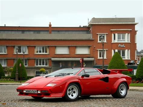 Lamborghini Countach LP5000 S Quattrovalvole 1985–89 ...