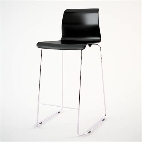 Barstuhl Ikea by Ikea Glenn Bar Stool Dwg