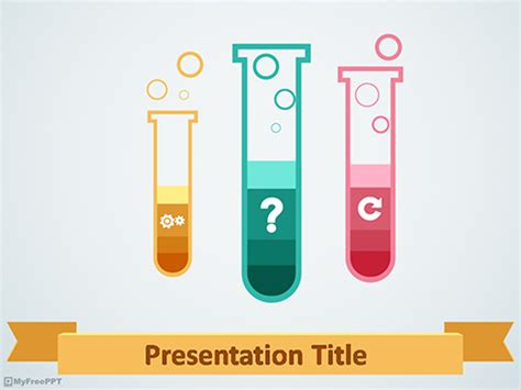 science experiment powerpoint template