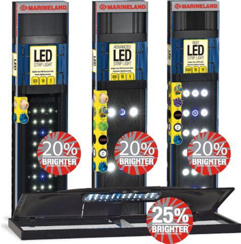 marineland hidden led lighting system 21 length marineland aquarium led light 1000 aquarium ideas