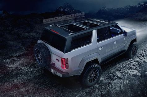 New 2020 Ford Bronco Renderings Let Us Have Our Cake And