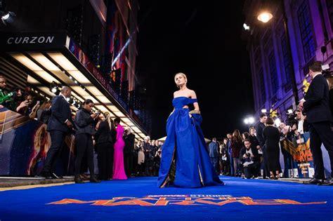 Brie Larson at Captain Marvel London Premiere February ...