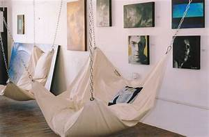 Cool Indoor Hammock – Le Beanock | DigsDigs