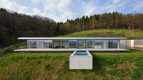 southwest home interiors minimalist glass and concrete house rises in germany