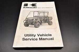 Oem Kawasaki 05 Mule 3010 Trans 4x4 Service Manual