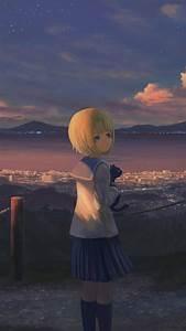 Anime, Alone, Iphone, Wallpaper