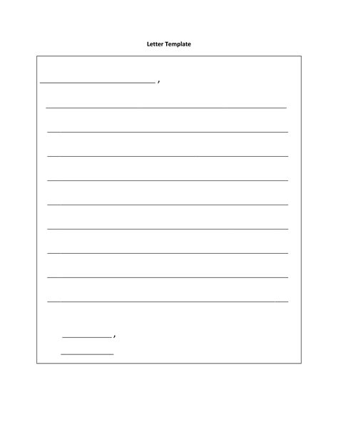letter writing template 10 best images of postcard writing template for printable friendly letter template for