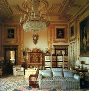 White drawing room at windsor castle john nash reserved for Interior decorating windsor