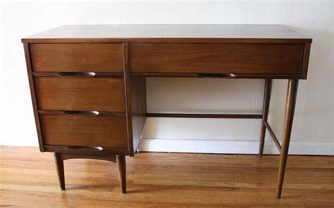 bureau vintage mid century modern desks picked vintage