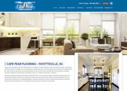 Fayetteville nc web design company website design seo for Cape fear flooring